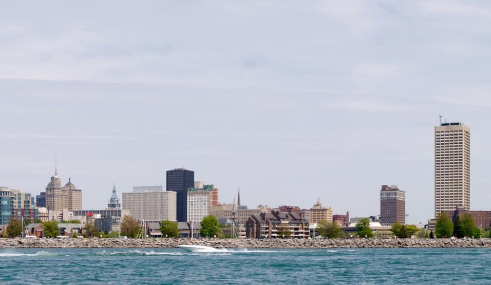 La ciudad de Buffalo, en el norte del estado de Nueva York, es la tercer...
