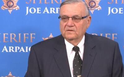 Joe Arpaio is the ex-Sheriff of Maricopa County, Arizona. he was convict...