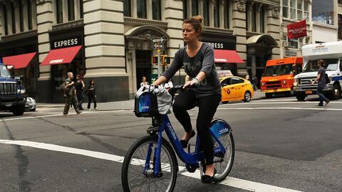 Citi Bike, en Nueva York, es el programa más grande de bicicletas...