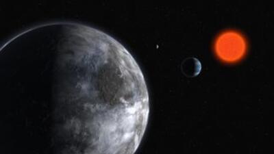 """El nuevo planeta hallado, nombrado """"Gliese 581 g"""", está justo en el cent..."""