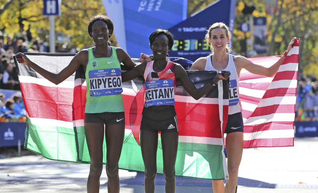 Maratón de Nueva York, entre el color y la competencia AP_16311650704240...