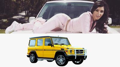Kim Kardashian es sorprendida a la salida del gimnasio con una poderosa camioneta
