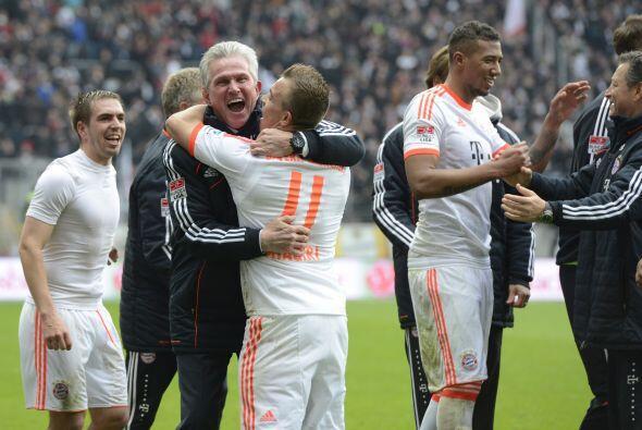 Aún queda una cosa por ganar a Heynckes en 2013.