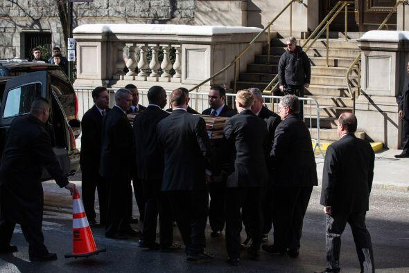 Familiares y amigos despidieron al actor en una ceremonia religiosa ofic...