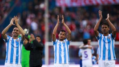 Málaga vence al Levante y este desciende