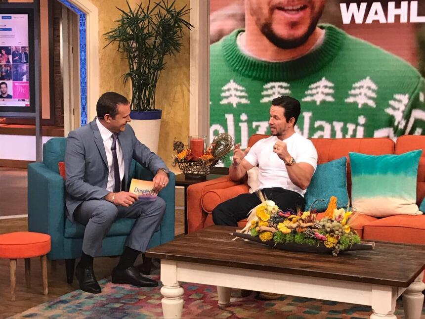 Mark Wahlberg en Despierta América para presentar Daddy's home 2