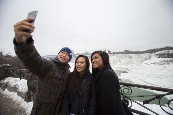 De cualquier forma, los turistas se divierten y emocionan de presenciar...