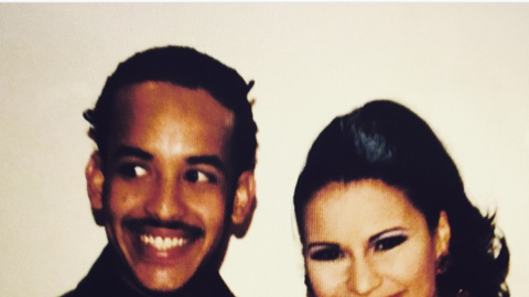 Daddy Yankee y Olga Tañón