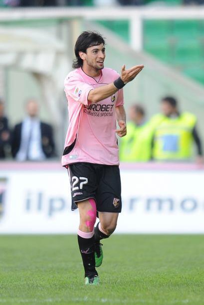 Palermo marcó tres goles y así este equipo se impuso por 3-1.