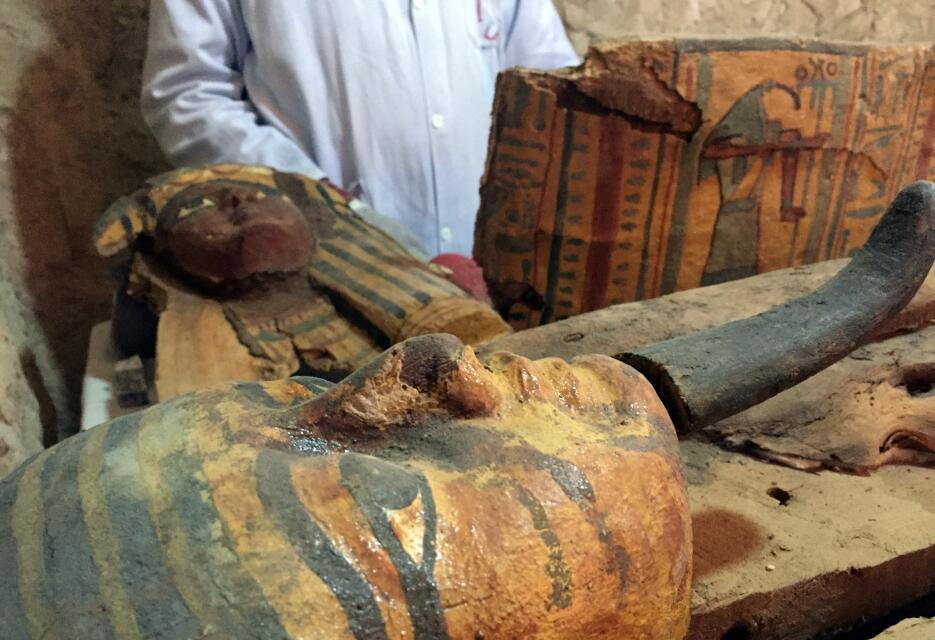 Descubren en Egipto una tumba de 3,000 años de antigüedad  Egipto2.JPG