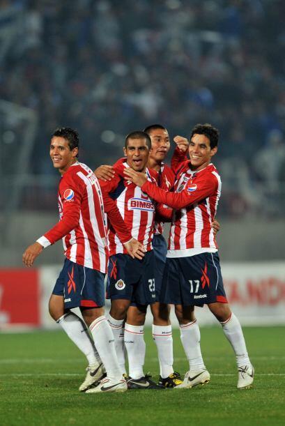 Gran triunfo de las Chivas de Guadalajara en Santiago ante la U de Chile...