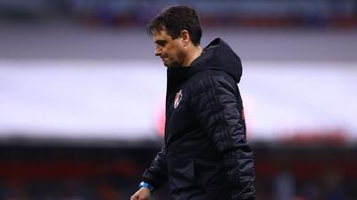 Guillermo Hoyos defendió a sus jugadores tras la derrota ante Cruz Azul