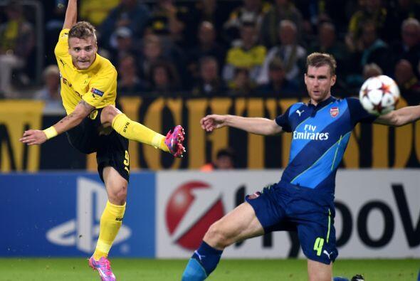 En un duelo que despertaba expectaciones el Borussia Dortmund se impuso...