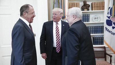 El pasado 10 de mayo, el presidente Trump se reunió en la Casa Blanca co...