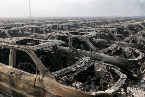 Hasta el momento perdió alrededor de 2,750 autos por la explosión, entre...