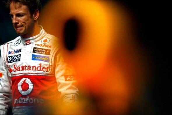 Jenson Button sigue batallando con un McLaren que no ha estado a la altu...