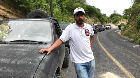 Gustavo Oviedo el día de la jornada que concluiría arrebatándole la vida.