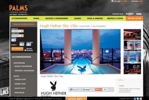 3. PALMS CASINO RESORT- Propiedad de la familia Maloof, este hotel es co...