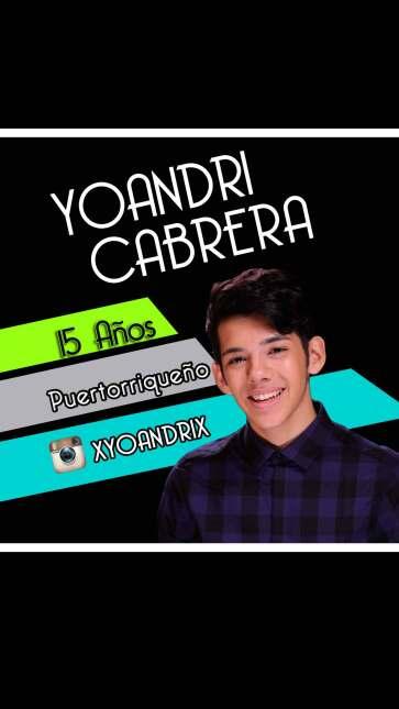 Yoandri Cabrera