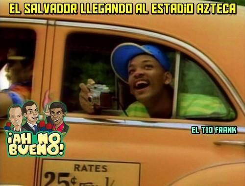 Memes de México vs El Salvador