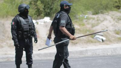 Policías en Guerrero (Imagen de Archivo).