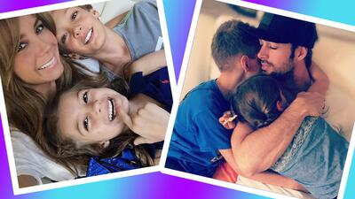 Elizabeth Gutiérrez, William Levy y sus hijos