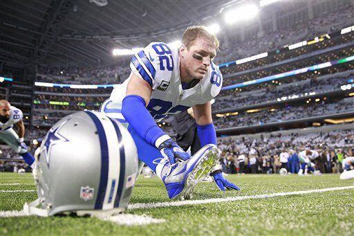 Jason Witten, ala cerrada de los Dallas Cowboys (AP-NFL)