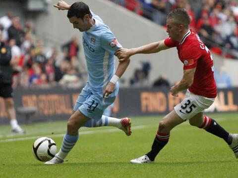 Los dos equipos de Manchester, el City y el United, se vieron las caras...