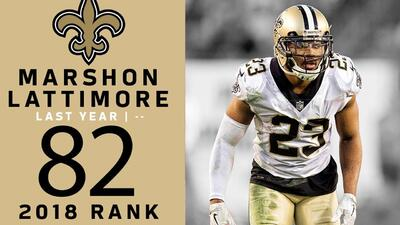 #82 Marshon Lattimore (CB, Saints) | Top 100 Jugadores NFL 2018