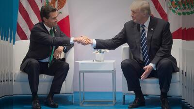Trump y EPN pactan acuerdo migratorio relámpago que restringirá flujo de migrantes