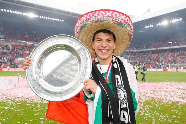 En fotos: Mexicanos campeones con el PSV Eindhoven 946577164.jpg