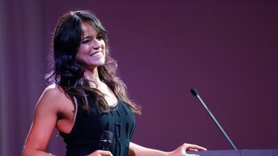 Michelle Rodríguez, la sensual 'boxeadora' de Hollywood