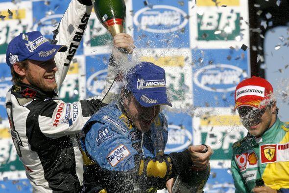 El título lo logró en el Gran Premio de Brasil, la última carrera de la...