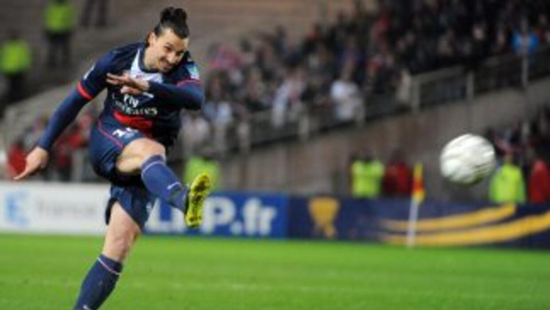 Ibrahiovic metio al PSG en la final de la Copa de Liga.