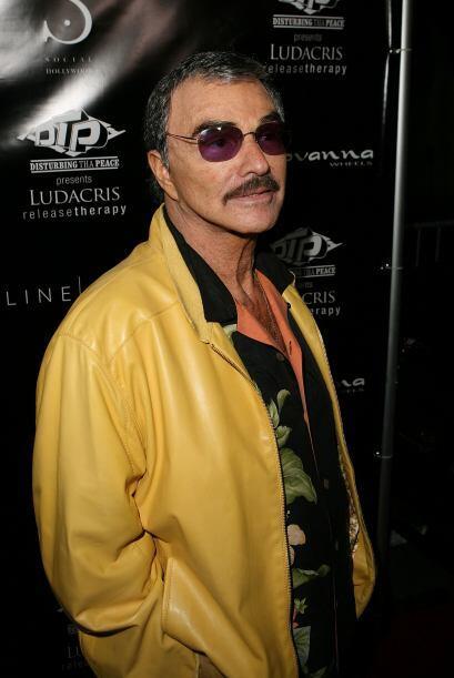 BURT REYNOLDS- Se dice que el actor dejó de pagar por dos años su hipote...