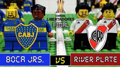 Final de Copa Libertadores, a lo LEGO