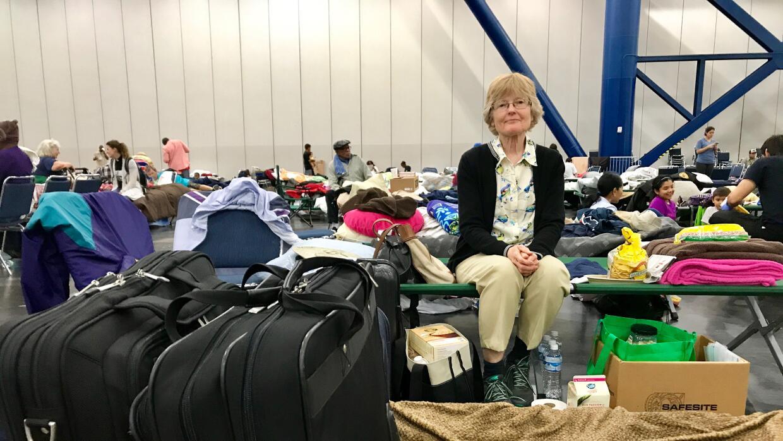 Janet Klumas, que vive en el estado de Washington, fue rescatada en la a...