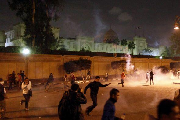 La agencia de noticias estatal Mena apuntó que los manifestantes pro Mur...