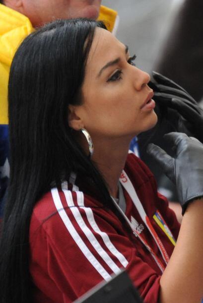 Venezuela tuvo su representante en el partido ante Brasil.