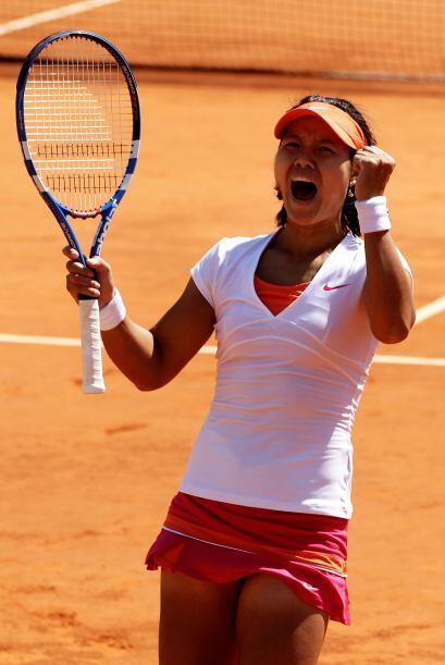 Na Li se convirtió, con el triunfo, en la primera finalista china que ll...