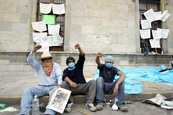 La renuncia de Ruiz había sido una de las principales exigencias durante...