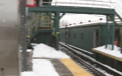 Apuñalan a una persona en la cabeza en una estación del tren en El Bronx
