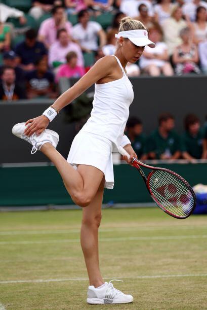 Actualmente Kournikova llegó en 1998 al Top Ten del ranking mundial WTA...