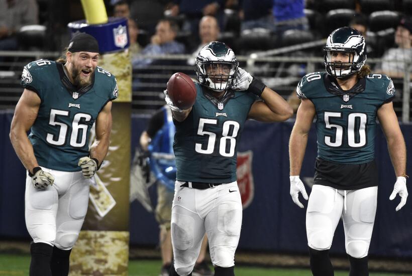 Drama en todo momento se vivió en el juego en que los Eagles derr...