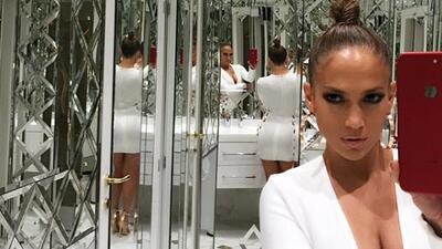 Conoce a la doble de Jennifer López, su parecido es impresionante