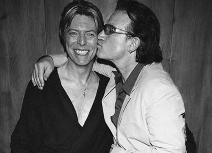 Bono y Bowie