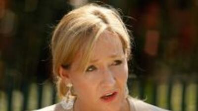 J.K. Rowling no descartó la posibilidad de seguir escribiendo libros de...