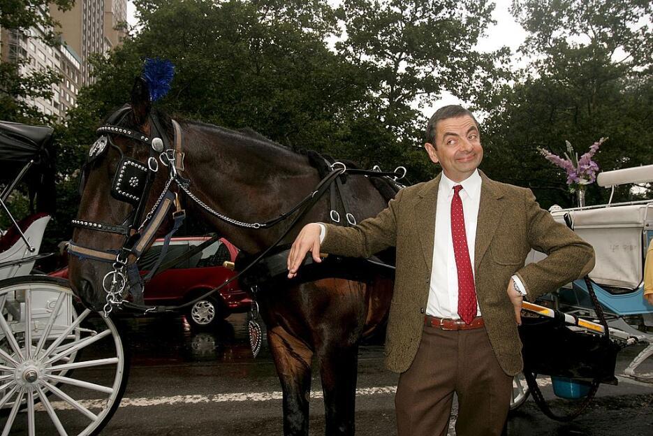 Rowan Atkinson es 'Mr. Bean'.