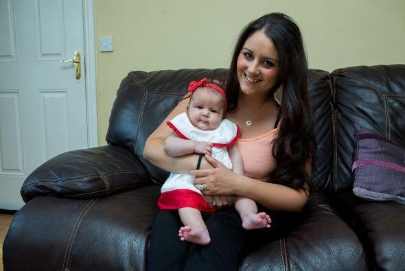 Al sobrevivir a este suceso, Megan ha demostrado que es una bebé muy fue...