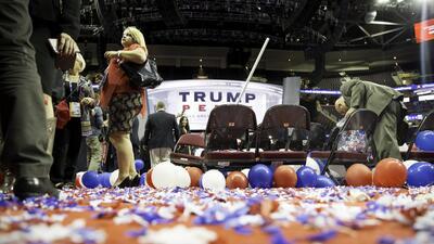 Fotoblog: Jueves 21 de julio. Los mejores momentos de la Convención Republicana en Cleveland.
